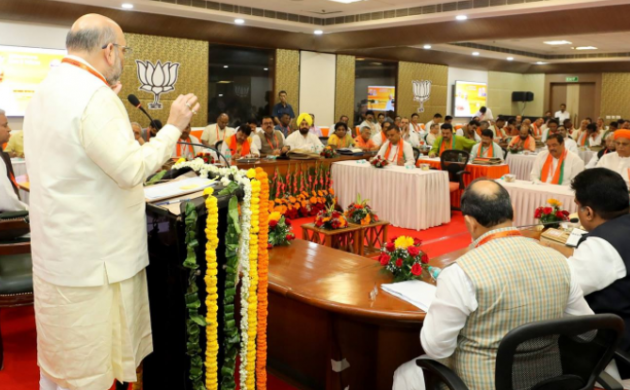 BJP to discuss job creation, poll strategy on second day of national executive meet (Photo-Twitter @BJP)