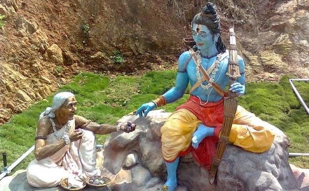 Shabari: The biggest devotee of Lord Rama (Source: Wikipedia)
