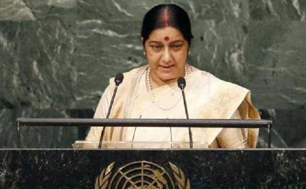 No second chance for NRIs to deposit their currency: Sushma Swaraj (File Photo)