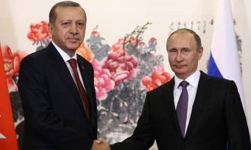 Erdogan, Putin agree to push for creation of 'de-escalation' zone in key Syria province