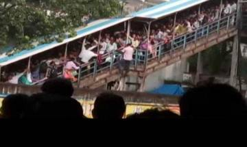 Elphinstone stampede: Western Railways says overcrowding happened due to heavy rains