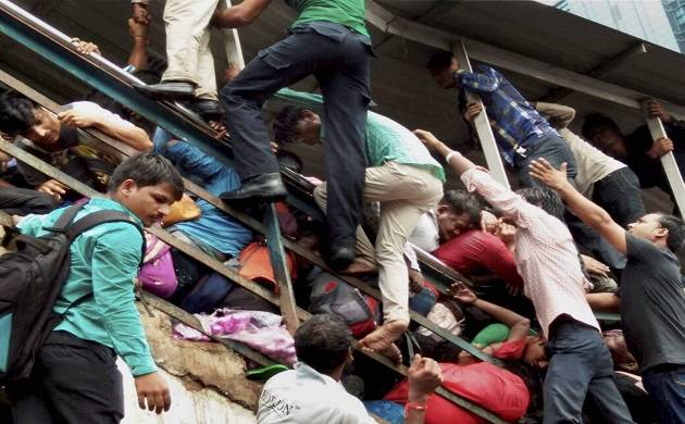 Mumbai Stampede: Rumours of British-era bridge collapse created panic at Elphinstone bridge; 22 killed, over 35 injured