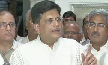 Piyush Goyal passes the buck to previous governments; says problems of Railways were inherited by them