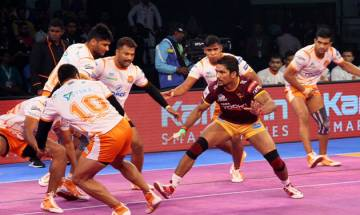 Pro-Kabaddi League Season 5: Puneri Paltan defeat UP Yoddha 34-33 in thrilling encounter