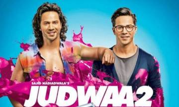 Judwaa 2 Box office collection day two: Varun Dhawan-Jacqueline Fernandez-Taapsee Pannu starrer mints Rs 20.55 cr