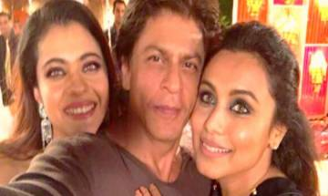 SRK's selfie with Kajol, Rani Mukerji makes us want to have 'Kuch Kuch Hota Hai' again