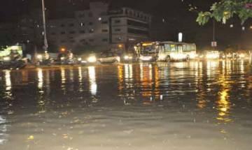 Heavy rainfall lashes Hyderabad; three dead