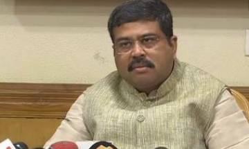 Dharmendra Pradhan urges states to slash VAT by 5 percent on fuel