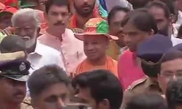 BJP's Jana Raksha Yatra: Yogi Adityanath lambasts Kerala govt for political killings, says time to show mirror to communists