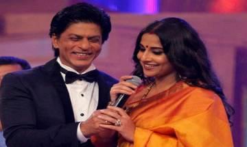 I wake up to a better looking SRK, claims Vidya Balan