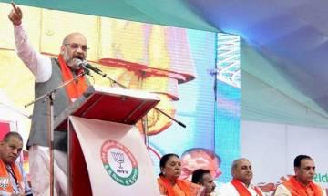 Janaraksha Yatra: BJP chief Amit Shah skips rally, returns to Delhi