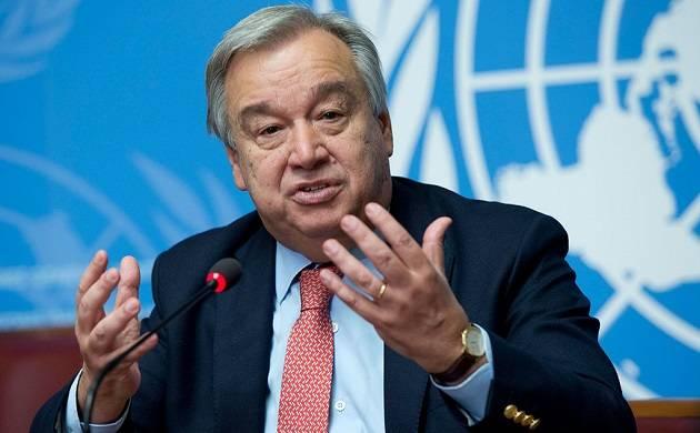 UN chief Antonio Guterres: Scientists predict extreme storms will be 'new normal'
