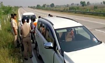 Mathura | RSS Chief Mohan Bhagwat escapes unhurt in road accident on Yamuna Expressway