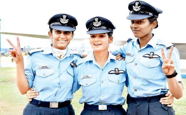 India's first three women fighter pilots to fly MiG-21 Bison jets. (File Photo)