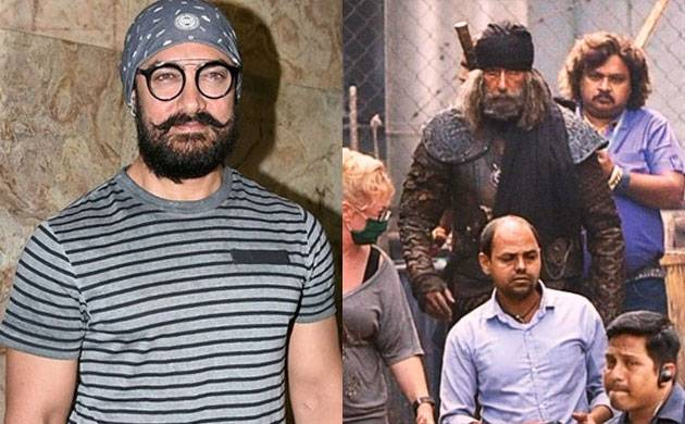 Thugs of Hindostan: Aamir Khan UPSET with Amitabh Bachchan's look leak, says 'it shouldn't have happened'