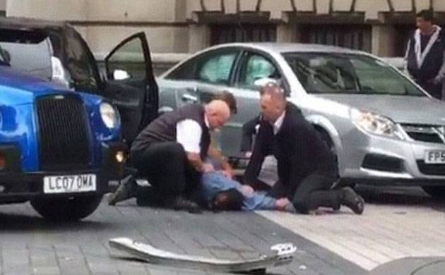 Man arrested in London as car hits pedestrians, leaves 11 injured