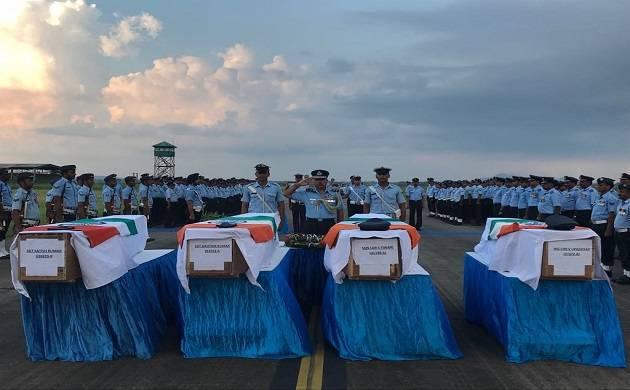 IAF personnel died in chopper crash at Arunachal Pradesh (Image source: Twitter)