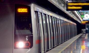 Delhi Metro fare hike: NSUI activists stage protest, stop train at Vishwavidyalaya
