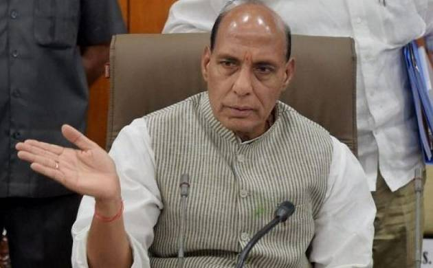 Rajnath Singh terms people not appreciating economy 'anti-India' forces (PTI photo)