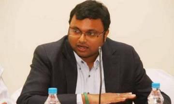 Karti Chidambaram denies CBI's charges of having multiple overseas bank accounts