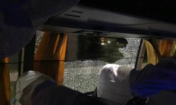 Stone thrown at Australian cricket team bus after 2nd T20 International in Guwahati
