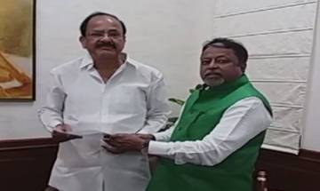 Mukul Roy resigns from Rajya Sabha as TMC MP, says he was compelled to quit Trinamool