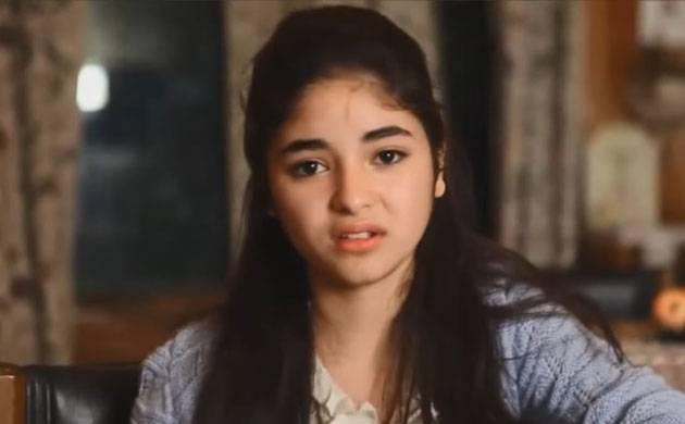 'Dangal' actress Zaira Wasim didn't want to be an actress ever