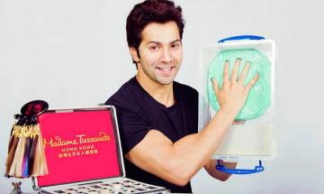 Varun Dhawan makes his way to Madame Tussauds in Hong Kong
