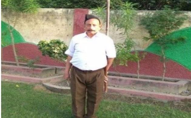Ravinder Gossain was killed by bike born assailants (Image source: ANI)