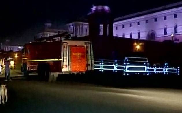 Fire breaks out on second floor of PMO; situation under control (Image: ANI)