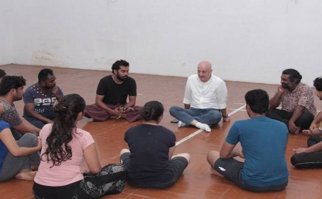 Chairman Anupam Kher makes a surprise visit to FTII campus
