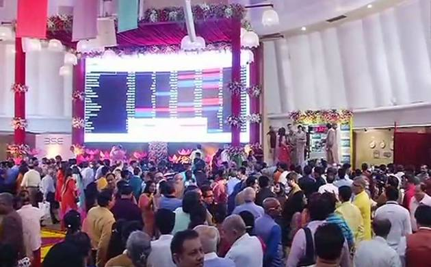 Sensex rises over 72 points in Muhurat trading session on Diwali