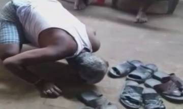 Bihar spit and lick incident: FIR against 8 people