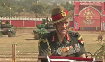 Army chief General Bipin Rawat on Kashmir: Security situation in valley improving, recent attacks show terrorists frustrated