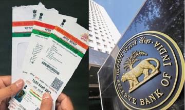 Linking of Aadhaar with bank accounts mandatory, clarifies RBI