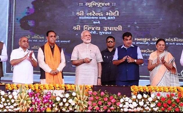 PM Modi addressed a public rally in Dwarka on October 7. (ANI Image)