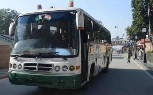 Srinagar-Muzaffarabad bus operates despite LoC tension (Source: PTI)