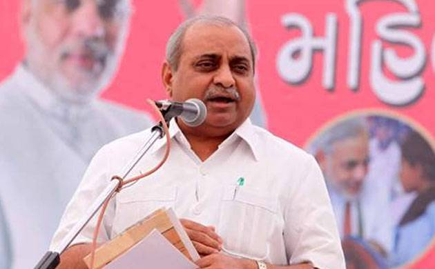 Gujarat election 2017: Deputy CM Nitin Patel says Cong would even invite Hafeez Saeed if feels he can help in winning polls