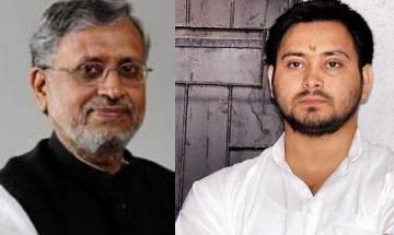 Bihar deputy Chief Minister Sushil Modi, Tejashwi Yadav engage in Twitter spat