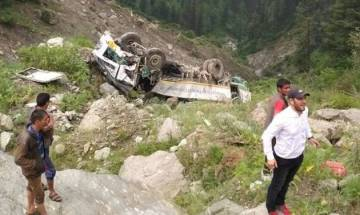 Himachal Pradesh: 3 killed, 18 injured in bus accident on Hindustan-Tibet National Highway