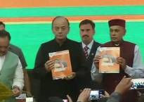 Himachal Pradesh assembly elections 2017: Arun Jaitley releases BJP's poll manifesto in Shimla