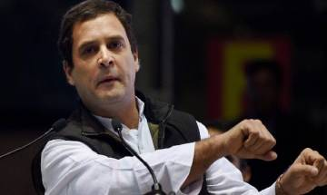 Rahul Gandhi's 'Pidi' all over the Twitter; Congress, BJP leaders engage in duels