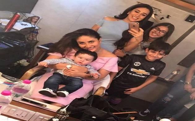 Aunt Karisma Kapoor reveals plans of Taimur's birthday party!