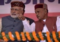 Himachal Pradesh Assembly polls 2017: BJP prez Amit Shah announces Prem Kumar Dhumal as party's CM candidate