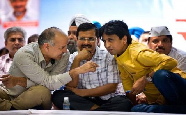 AAP sets stage for National Council meet; Vishwas not allowed to speak (File photo)