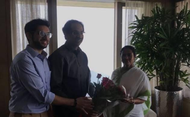 WB CM Mamata Banerjee meets Shiv Sena chief Uddhav Thackeray in Mumbai