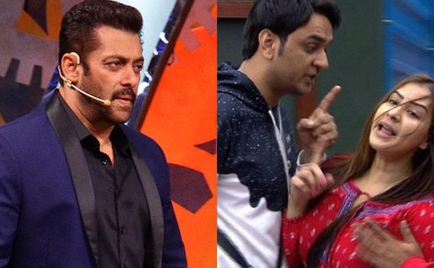 Bigg Boss 11: This is how Salman Khan REACTS to Shilpa Shinde-Vikas Gupta fight