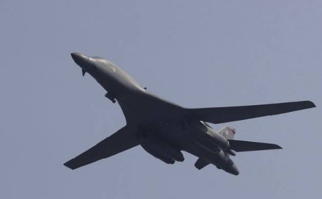 US supersonic B-1B Lancer bombers conduct exercise over South Korea region. (Representational Photo)