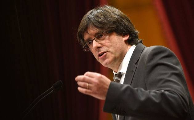 Spain issues arrest warrant for Catalan leader Carles Puigdemont