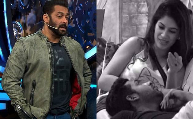 Bigg Boss 11: Salman Khan REACTS to Puneesh Sharma-Bandgi Kalra's make out plan